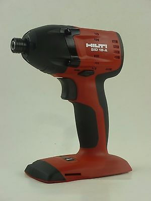 """NEW HILTI SID 18-A 21.6v Li-ion CORDLESS 3 Speed 1/4"""" IMPACT WRENCH TOOL ONLY"""