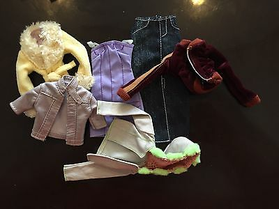 Barbie Clothes - lot of 6 outfits