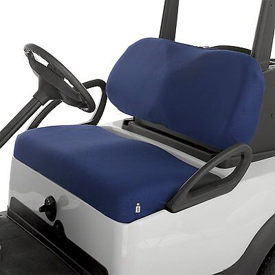 Classic Accessories Golf Cart Diamond Mesh Bench Seat Cover NAVY Buggy NEW