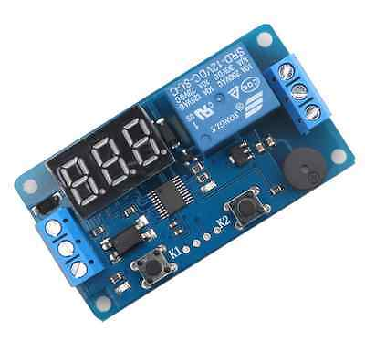 12V LED Display Digital Delay Timer Relay Control Switch Module PLC Automation