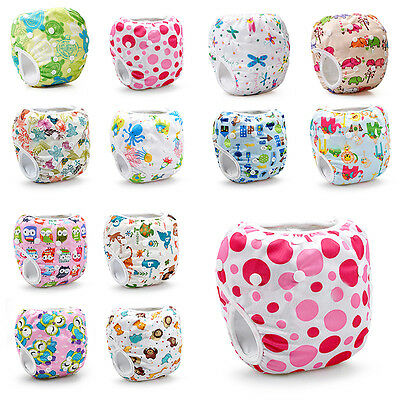 Reusable Adjustable Swim Nappy Baby Toddler Cover Diaper Pants Nappies Swimmers