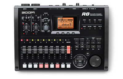 Zoom R8 8-track digital Multitrack portable Recorder w/ Cubase LE