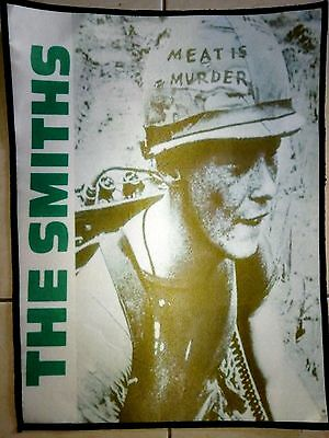 """Backpatch Print The Smiths """"meat Is Murder"""" New"""