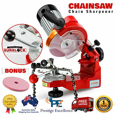 Chainsaw Sharpener Chain Saw Electric Grinder File Power Tool Blade Repair Bench