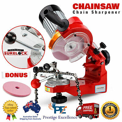 Chainsaw Sharpener Chain Saw Electric Grinder File Tool Blade Repair Bench New