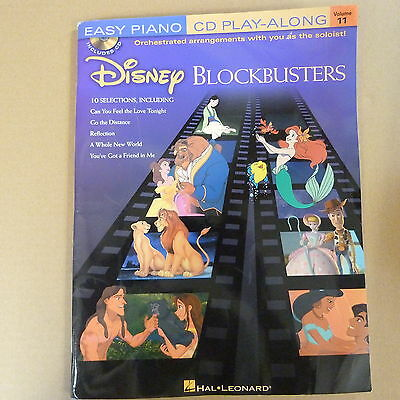 piano DISNEY BLOCKBUSTERS Vol 11 incl. CD