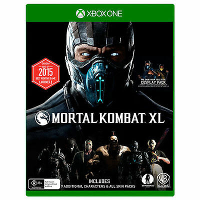 Mortal Kombat X XL Xbox One Game Brand New Sealed In Stock