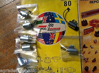 CONDENSER FOR EARLY FORD XK XL XM XP XR,VW,HOLDEN,BENZ 57-76,SAAB CARS + trucks