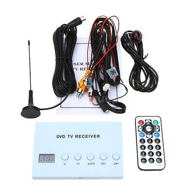Car DVD TV Receiver Monitor Analog Tuner Strong Signal Box Remote Control M0B3