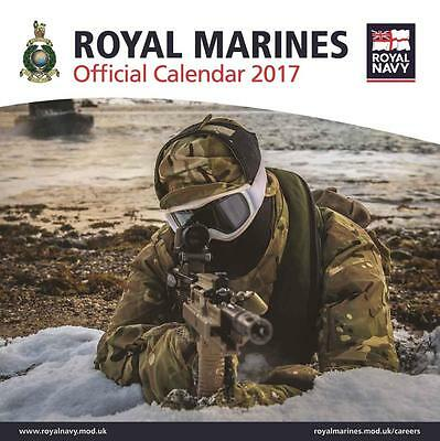 Royal Marines Official Uk Square 2017 Wall Calendar With Free Uk Postage