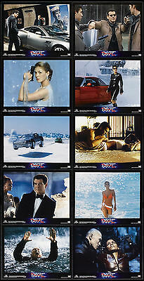 Die Another Day Pierce Brosnan James Bond Halle Berry 2002 Lobby Card Set Of 10