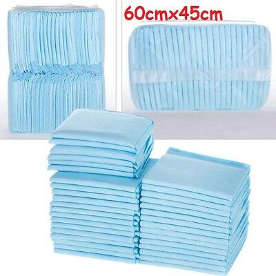 60X45Cm 50-200 Puppy Training Pads Trainer Super Absorbent Toilet Wee Mats Pads