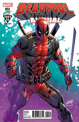 Deadpool Annual #1 Vol 5 Fried Pie Rob Liefeld Variant