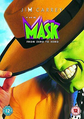 The Mask [2016] (DVD) Jim Carrey, Cameron Diaz, Richard Jeni, Peter Greene