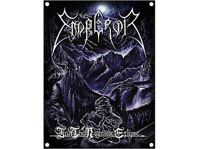 EMPEROR - In The Nightside Eclipse - Flagge Posterfahne Textilposter Flag - Neu
