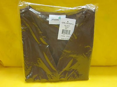 Brownie Girl Scouts Vest (Small)