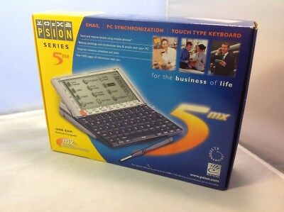 New in Box Psion Series 5MX Palmtop Computer PDA (1900-0142-01)