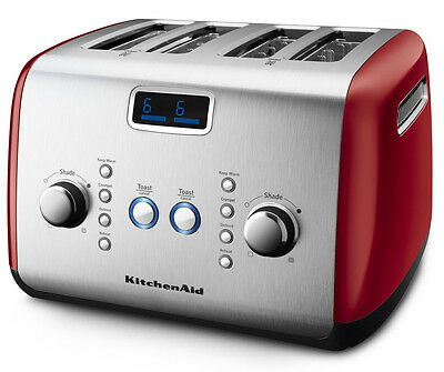 NEW KitchenAid - KMT423 Empire Red - 4 Slice Toaster from Bing Lee