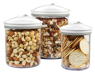 NEW FoodSaver - VS0630 -  3 x Canister Set from Bing Lee