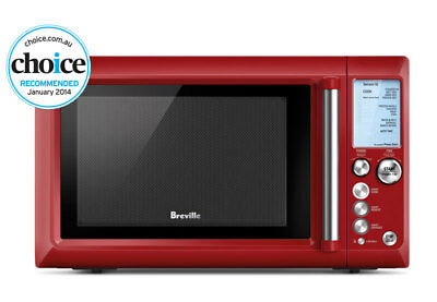 NEW Breville - BMO735CRN - the Quick Touch       - Cranberry from Bing Lee