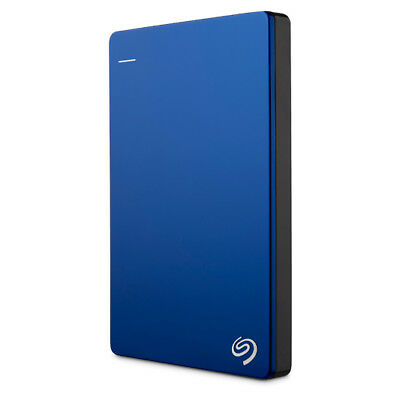 New Seagate - 2TB Backup Plus Slim Portable Drive - Blue