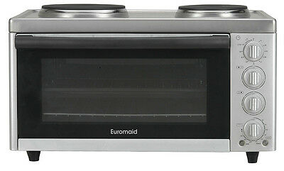 NEW Euromaid - MC130T - Electric Benchtop Cooker from Bing Lee