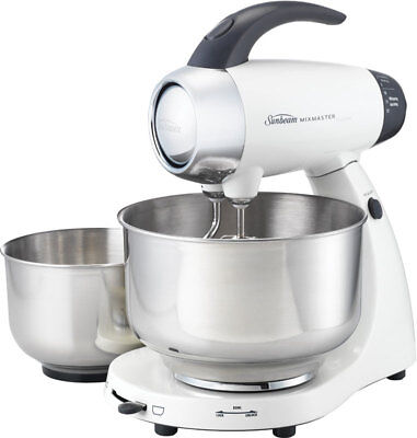 NEW Sunbeam - MX8500W - Mixmaster     Classic - White from Bing Lee