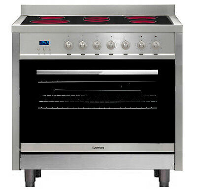 NEW Euromaid - CS9TS - 90cm Freestanding Cooker from Bing Lee