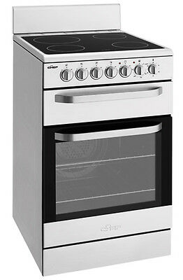 NEW Chef - CFE547SA - 54cm Freestanding Cooker from Bing Lee