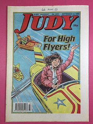 JUDY - Stories For Girls - No.1601 - September 15, 1990 - Comic Style Magazine