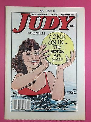 JUDY - Stories For Girls - No.1596 - August 11, 1990 - Comic Style Magazine