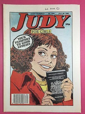 JUDY - Stories For Girls - No.1594 - July 28, 1990 - Comic Style Magazine