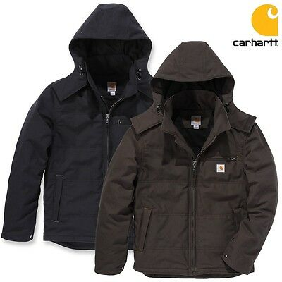 Carhartt Herren Winterjacke Jacke Quick Duck Livingston Multifunktion S bis XXL