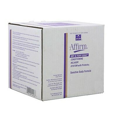 Avlon Affirm Dry & Itchy Scalp Relaxer Sensitive Scalp Formula - 9 Applications