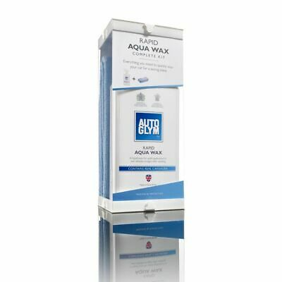 AUTOGLYM Rapid Aqua Wax Complete Kit