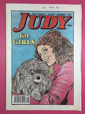 JUDY - Stories For Girls - No.1612 - December 1, 1990 - Comic Style Magazine