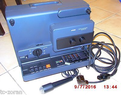 Bauer T 502 Automatic Duoplay Super 8 Tonfilmprojektor (W0071)