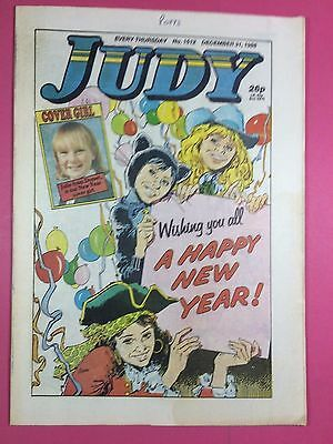 JUDY - Stories For Girls - No.1512 - December 31, 1988 - Comic Style Magazine