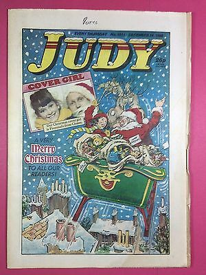 JUDY - Stories For Girls - No.1511 - December 24, 1988 - Comic Style Magazine