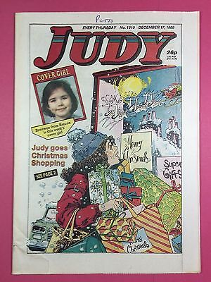 JUDY - Stories For Girls - No.1510 - December 17, 1988 - Comic Style Magazine