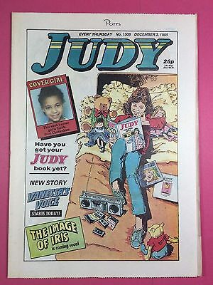 JUDY - Stories For Girls - No.1508 - December 3, 1988 - Comic Style Magazine