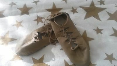 Tan Leather Split Sole Gillies for Dance/Lyrical/Theatre (SZ 4.5) - NEW!