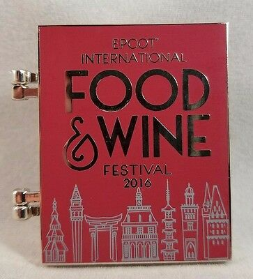 Chef Figment Epcot Food and Wine Festival 2016 Annual Passholder Disney Pin