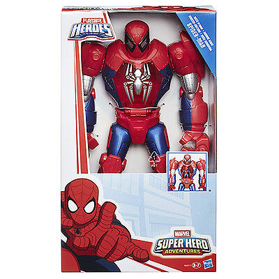 Playskool Heroes Marvel Super Hero Adventures Figure - MECH Armour Spider-Man