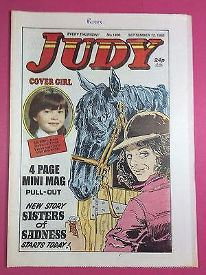 JUDY - Stories For Girls - No.1496 - September 10, 1988 - Comic Style Magazine