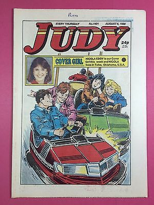 JUDY - Stories For Girls - No.1491 - August 6, 1988 - Comic Style Magazine