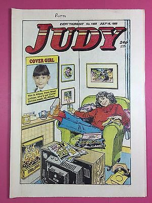 JUDY - Stories For Girls - No.1488 - July 16, 1988 - Comic Style Magazine