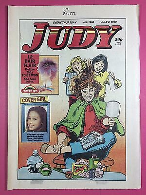 JUDY - Stories For Girls - No.1486 - July 2, 1988 - Comic Style Magazine