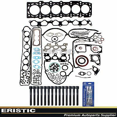 Fits 93-98 Toyota Supra 3.0L TURBO DOHC 24V 2JZGTE Full Gasket Set & Head Bolts