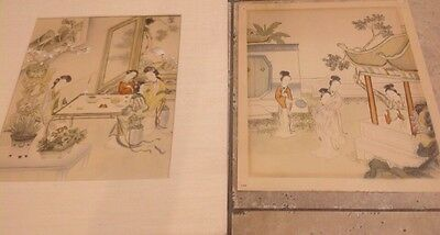 Lot 2 Chinese Vintage Prints
